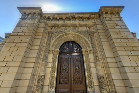 Juma Mosque in Baku, Azerbaijan dating from 11th century. Stock Photo