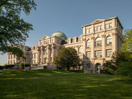 The Mertz Library in the New York Botanical Garden in Bronx, New York.