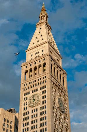 Metropolitan Life Insurance Company building in Manhattan, New York City, USA. Editorial