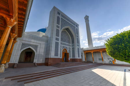 Minor Mosque in Tashkent, Uzbekistan. It is a relatively new mosque opened on 1 October 2014.