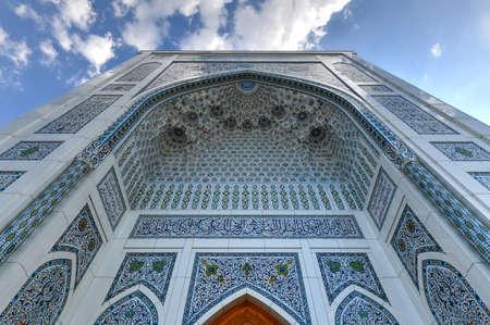 Minor Mosque in Tashkent, Uzbekistan. It is a relatively new mosque opened on 1 October 2014.