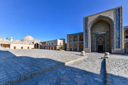 Ulugbek Madrasa in Bukhara. Stock fotó