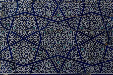 Khan Palace Tash-Khauli or stone palce, a harem for wives and concubines in Khiva, Uzbekistan.