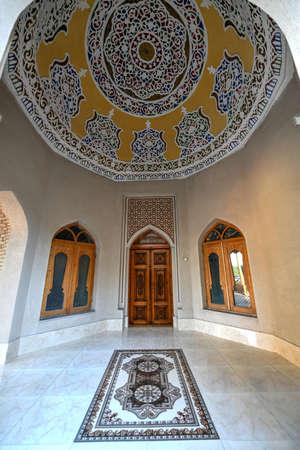 Toki Sarrafon Trading Dome in Bukhara, Uzbekistan, Central Asia. Sajtókép