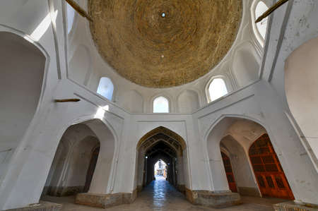 Walkways and streets through the old city of Bukhara in Uzbekistan that keep the air cool even in the hottest of summer days.