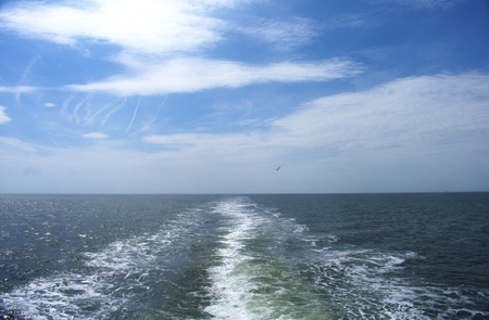 Crossing Delaware Bay by ferry - Lewes, Delaware to Cape May, New Jersey