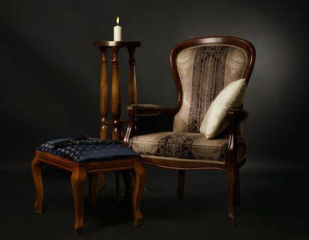 Luxuus inter in the aristocratic style Stock Photo - 7535361