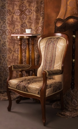 Luxurious interior in the vintage style Stock Photo - 9058401