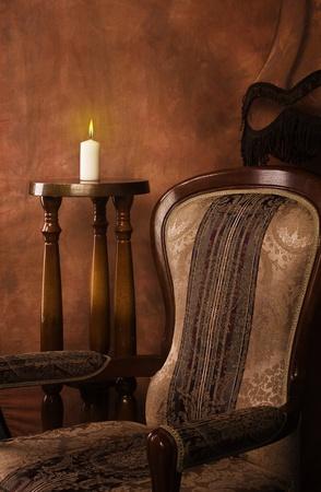 Luxurious interior in the aristocratic style  版權商用圖片