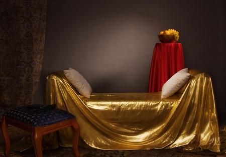 Magnificent elegant bedroom in aristocratic style Stock Photo - 9058392