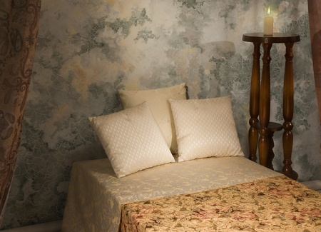 Refined bedroom inter in the vintage style Stock Photo - 9137779