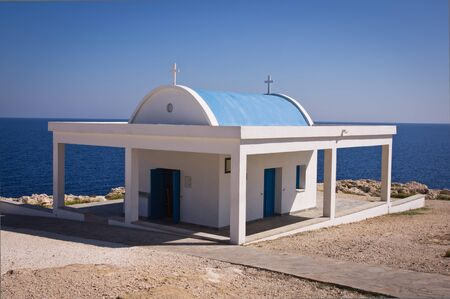 Cyprus chapel Agii Anargiri in Agia Napa, Cyprus   photo