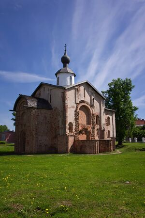 Church of St Paraskeva Piatnitsa in the Marketplace  1207  Novgorod The Great, Russia photo