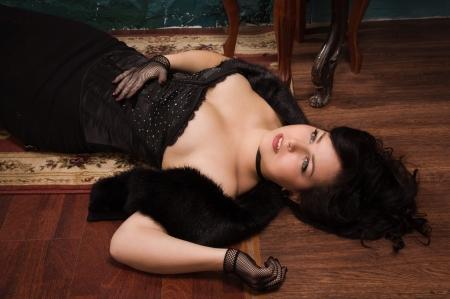 corpse: Victim lying on the floor