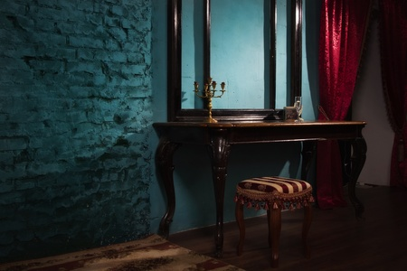 Luxurious vintage interior in the aristocratic style photo
