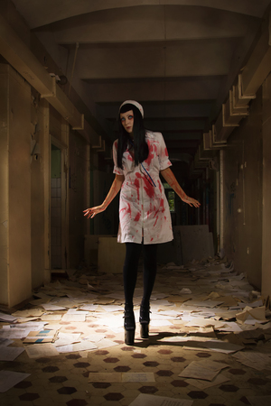 abhorrence: Crazy dead nurse in an abandoned hospital