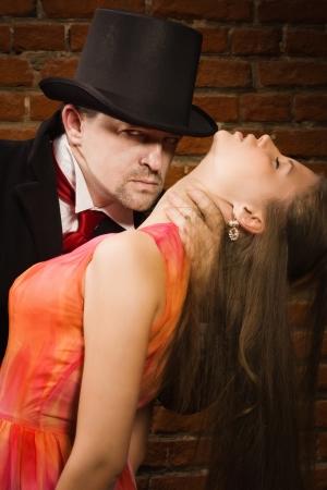 evildoer: Vampire attacking girl