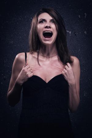 sanitarium: Asylum. Screaming crazy woman. Low key.