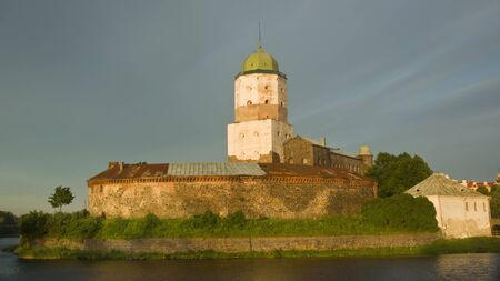 Vyborg castle, located in the city of Vyborg, Europe, Russia