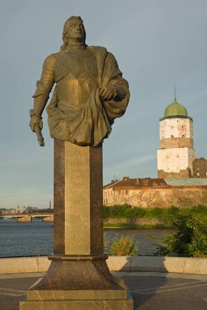 vyborg: Vyborg castle, located in the city of Vyborg, Europe, Russia