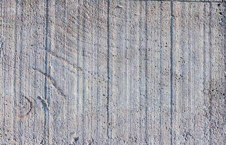 Exposed Grungy White Concrete Wall. Abstract Background.
