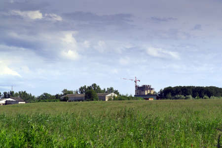 housing development in countryside