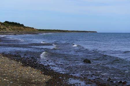 Coast of the Okhotsk Sea  Stock Photo
