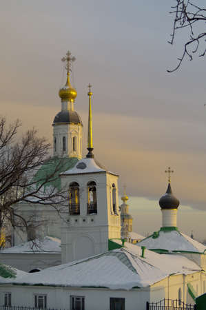 Transfiguration Church and the Church of St  Nicholas parish Spassky