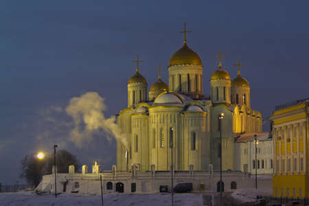 Cathedral of the Assumption of the Blessed Virgin Mary in Vladimir.