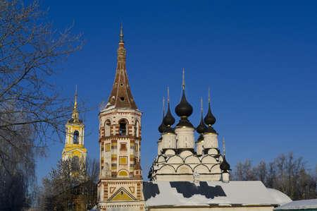 lazarus: Wintry Saint Antipas and Summary Saint Lazarus Churches in Suzdal