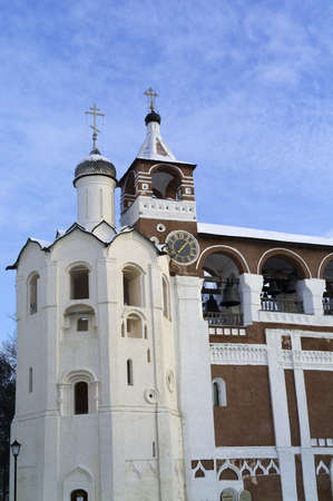 Belfry of Holy Euthymius monastery in Suzdal