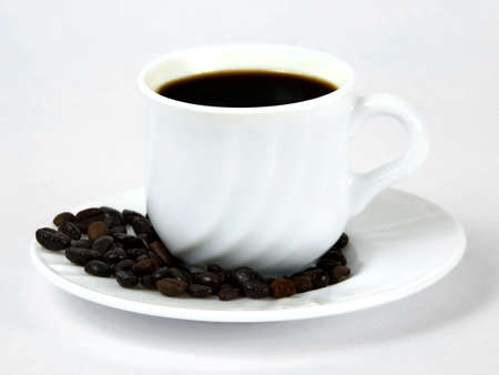 Still-life with a cup of coffee. Stock Photo - 9156722