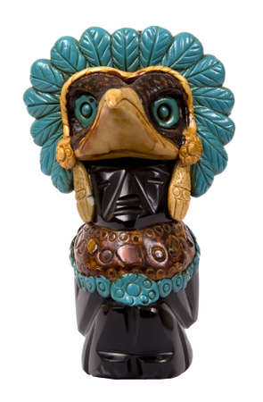Eagle a bird of god in tradition of beliefs of Indians of a tribe of the Maya.