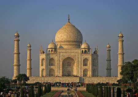 Great mosque Taj Mahal  in India
