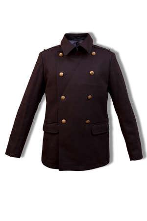 man s: Man s jacket on a white  Stock Photo