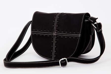 Woman handbag isolated on white background