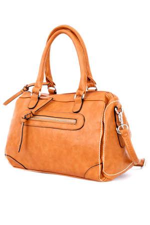 Woman handbag isolated on white background photo
