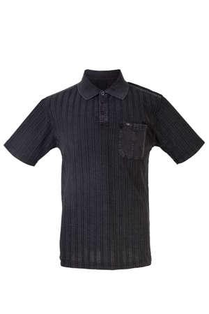 Polo Shirt isolated on white  photo