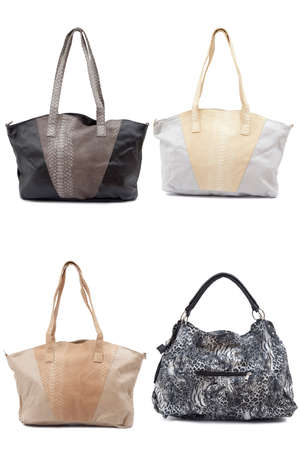 Woman handbag isolated on white  Stock Photo - 26348458