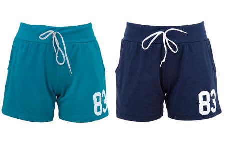 shorts isolated over white background Stock Photo