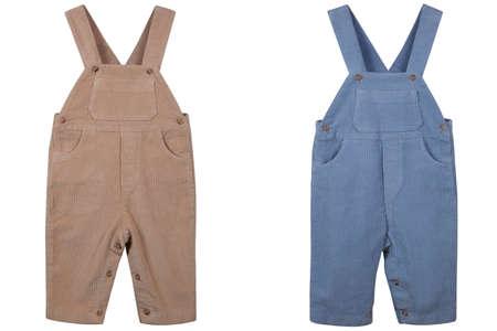 Children s overalls velveteen
