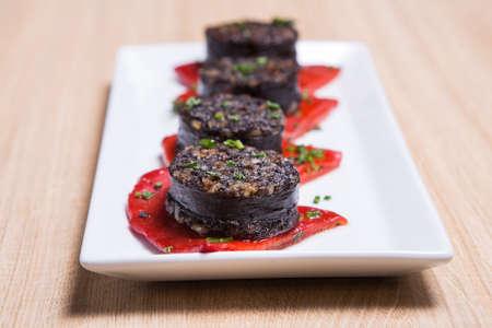 Saucisse espagnole traditionnelle de Morcilla du sang