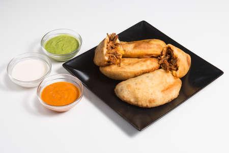 Empanadas de carne Caseras tradicionales in Venezuela