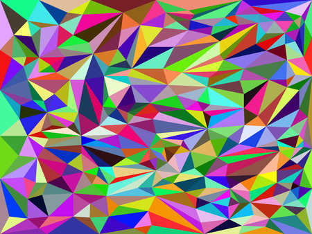 darkly: The abstract background consisting of multi colored triangles.