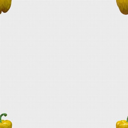paprika: Seamless pattern, a paprika fills template space.