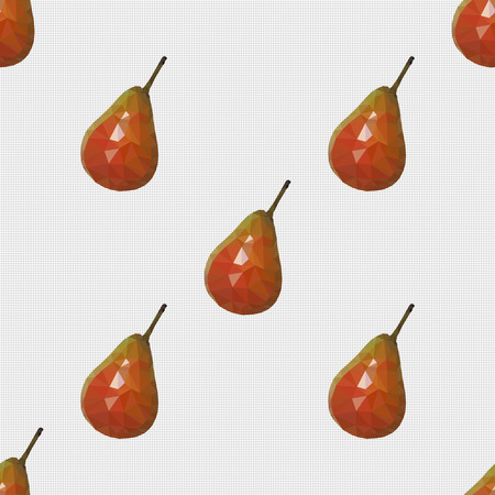 pears: Seamless pattern, a pears fills template space.