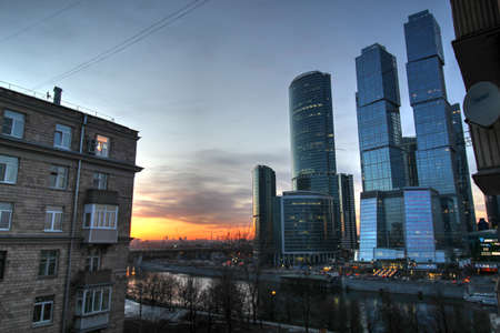 moscow city: Moscow city