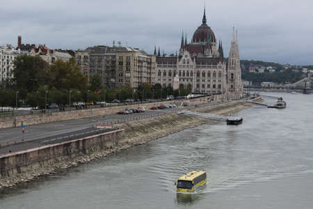 floating bus on the Danube