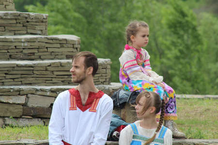 slavs: International reasonably assured reading 2015. The family of the Slavs in ancient clothes Editorial