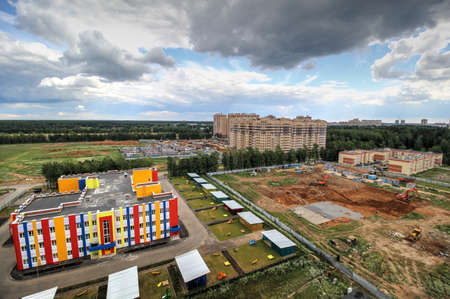 housewarming: the construction of modern apartment buildings with developed infrastructure